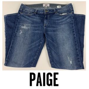 "Paige ""Skyline Ankle Peg"" Skinny Jeans"
